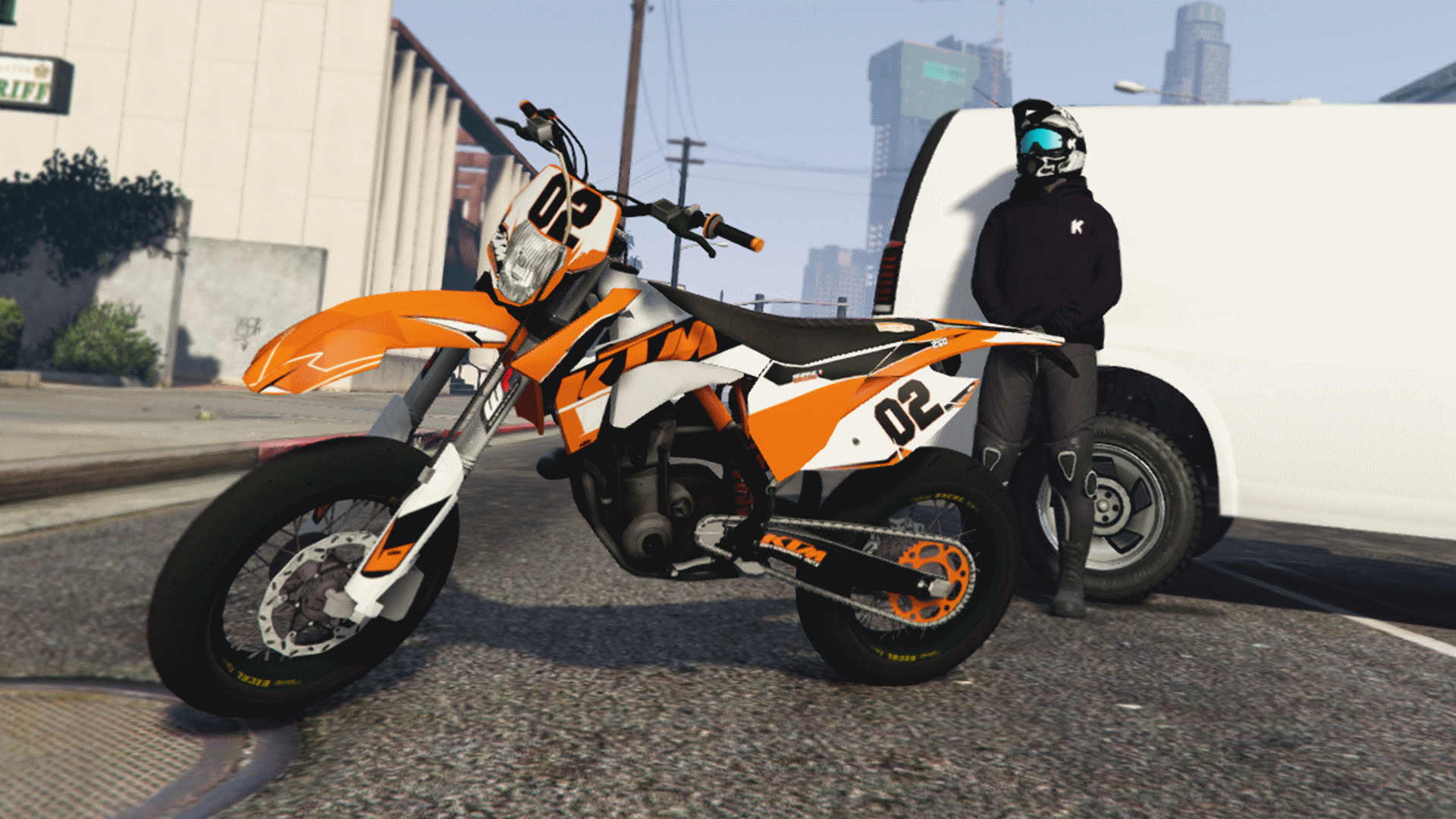 ktm exc 250 kikaninac livery sound gta5. Black Bedroom Furniture Sets. Home Design Ideas