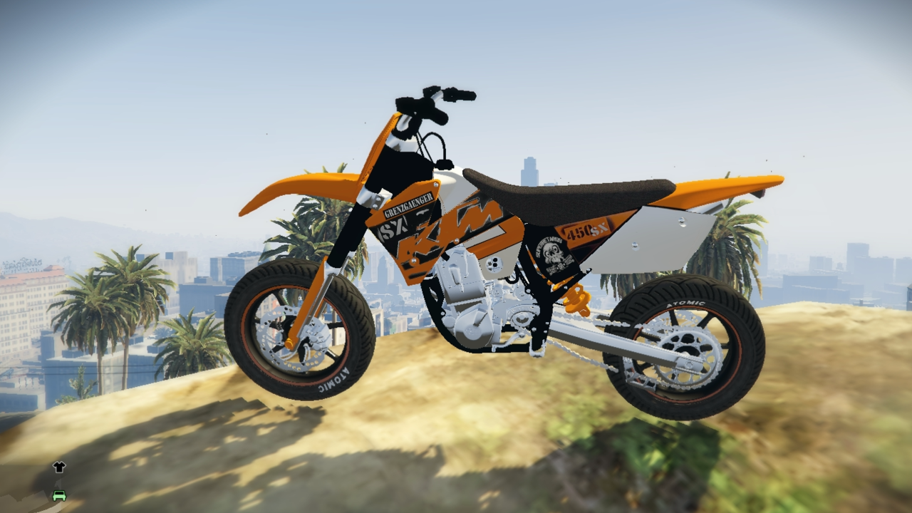 Ktm sx bf400 supermoto cross gta5 - Moto crosse ktm ...