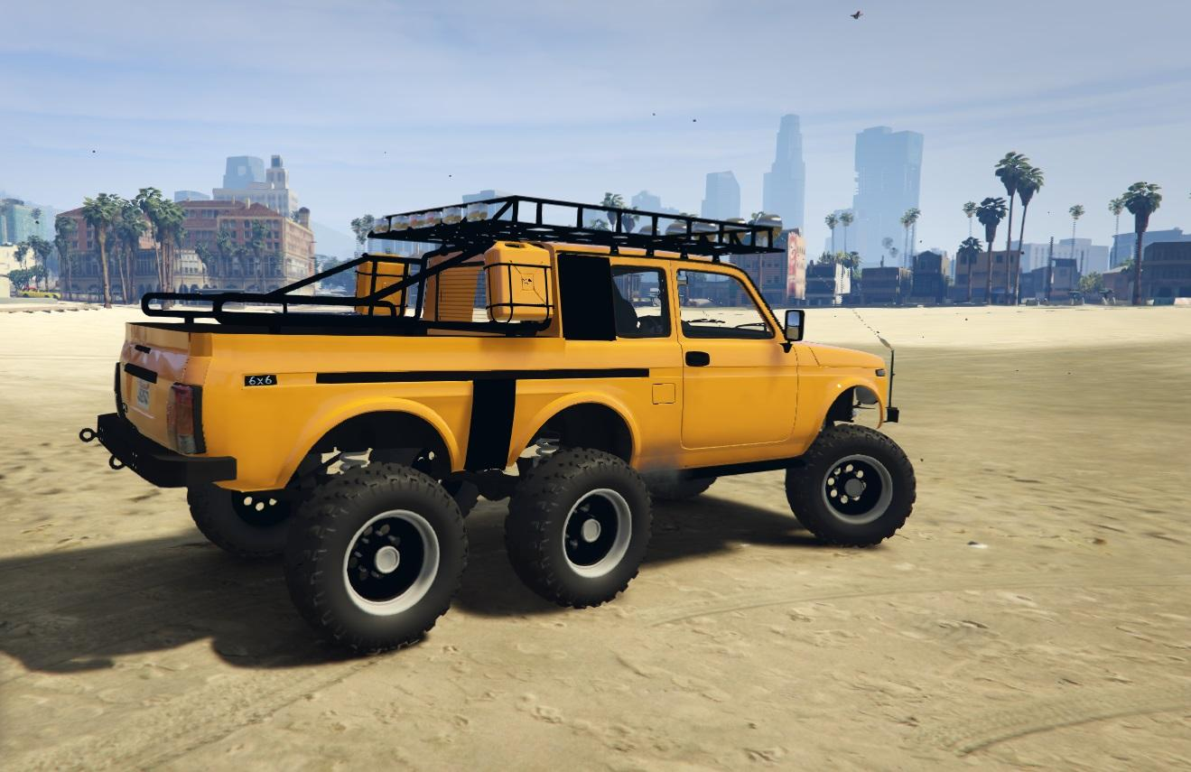 lada niva 6x6 tuning gta5. Black Bedroom Furniture Sets. Home Design Ideas