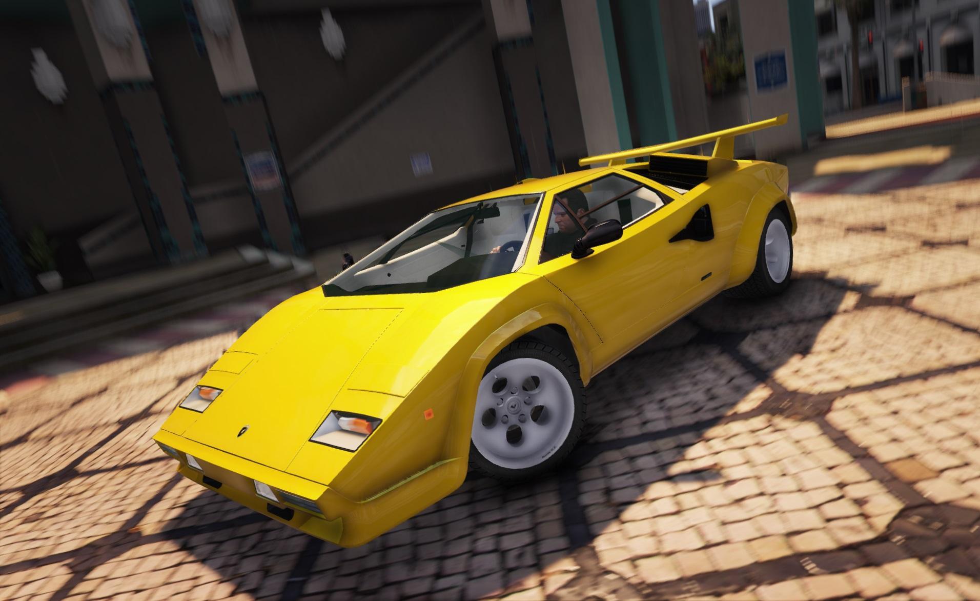 1988 Lamborghini Countach Qv Add On Replace Gta5