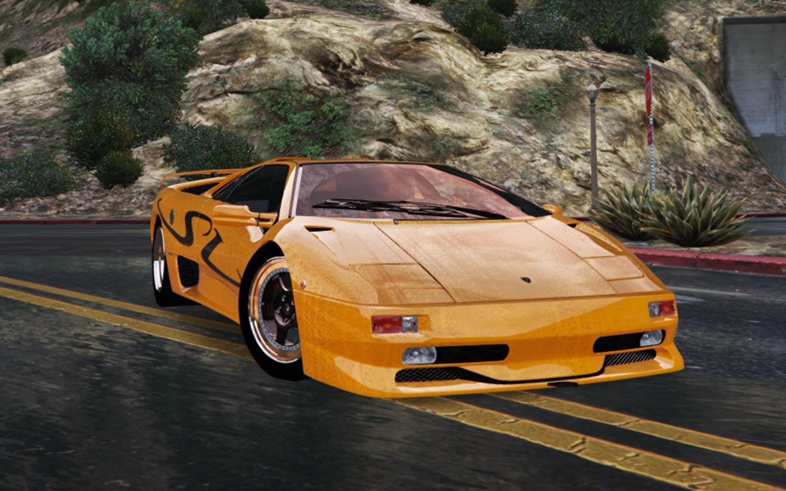 lamborghini diablo sv 1997 add on replace template pop up lights gta5. Black Bedroom Furniture Sets. Home Design Ideas