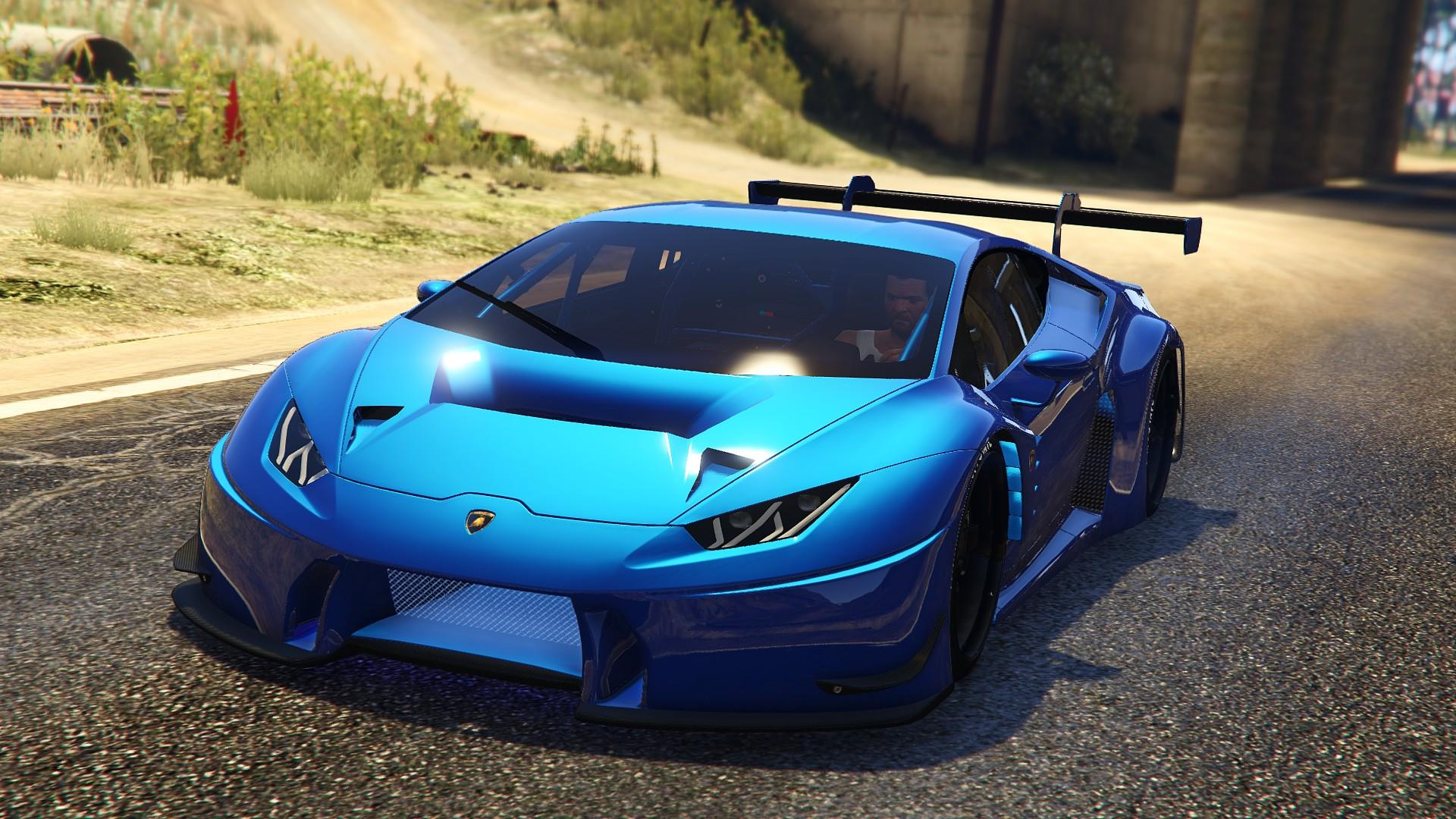 lamborghini huracan gt3 add on tuning gta5. Black Bedroom Furniture Sets. Home Design Ideas