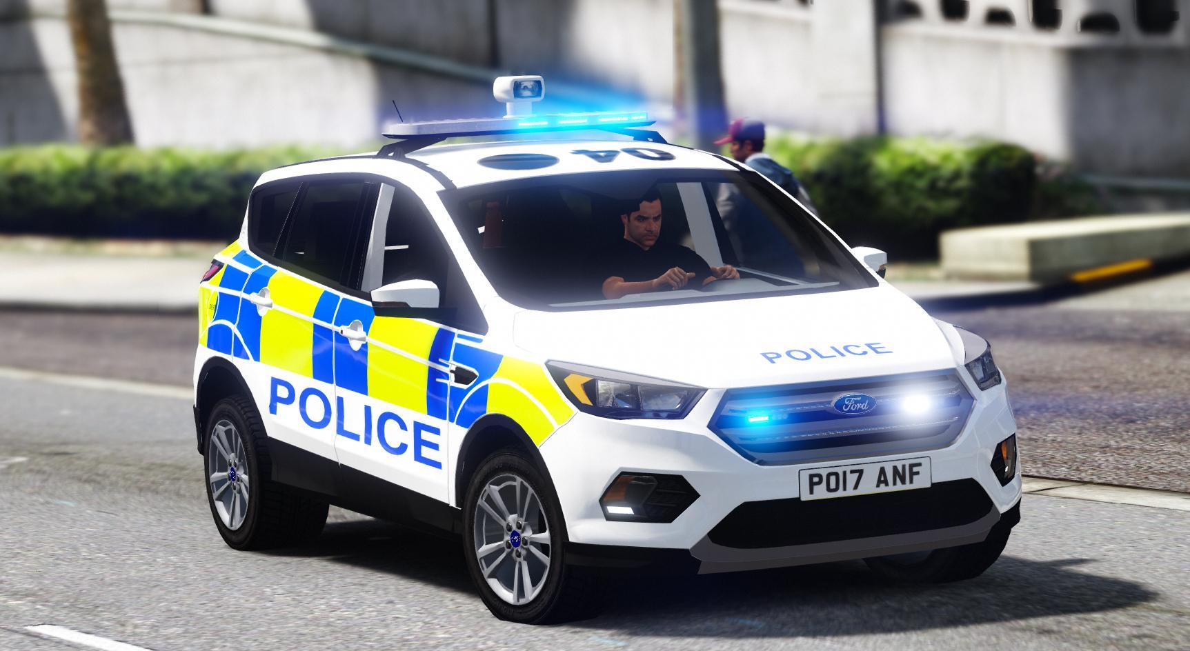 lancashire police ford kuga els gta modscom