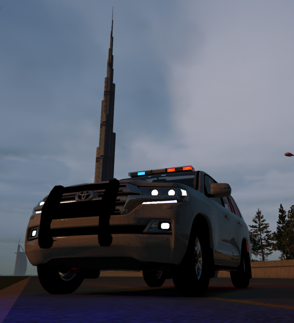 Land Cruiser 2016 Police [Template] [ FiveM Ready