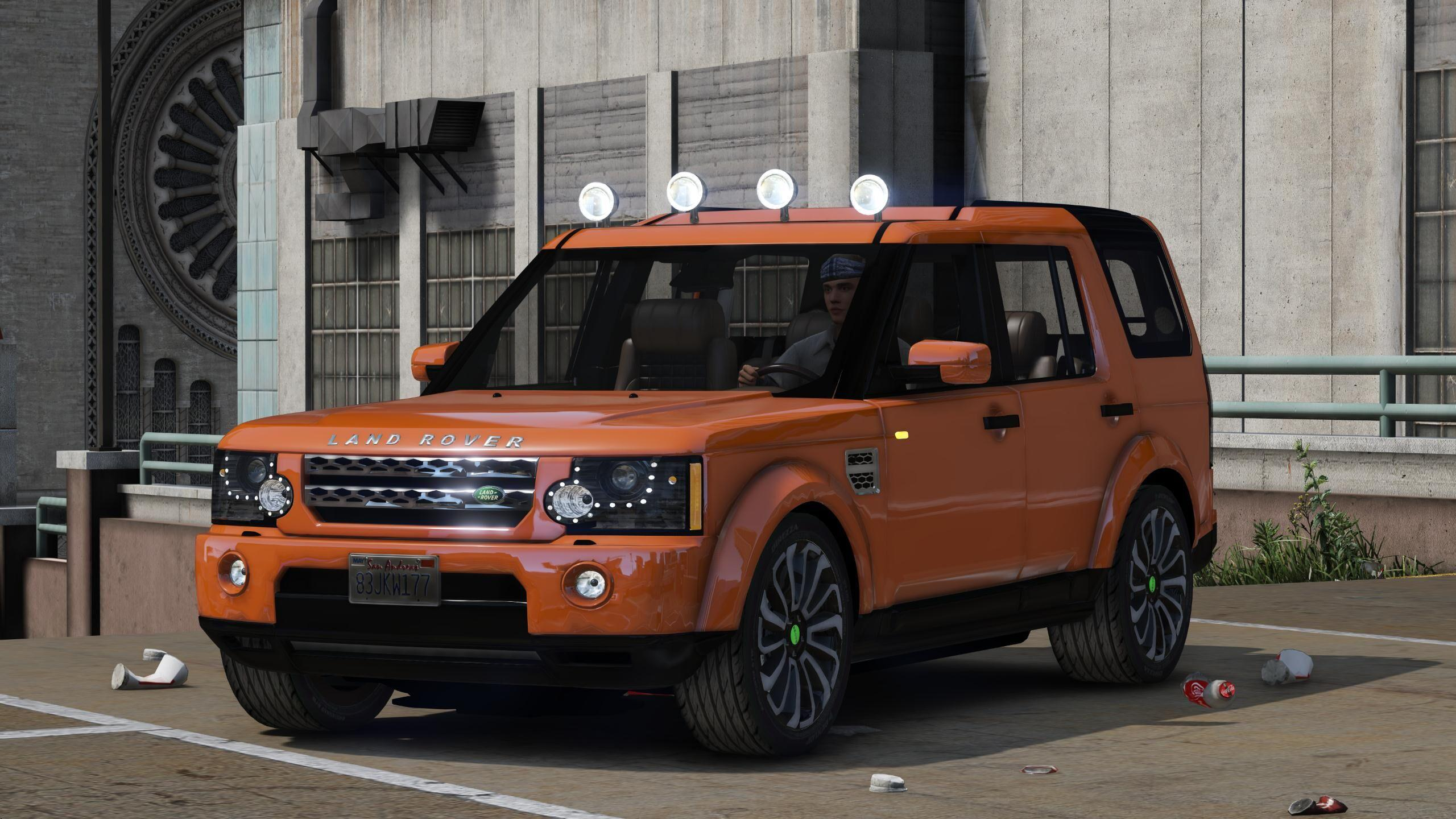 land rover discovery 4 add on gta5. Black Bedroom Furniture Sets. Home Design Ideas