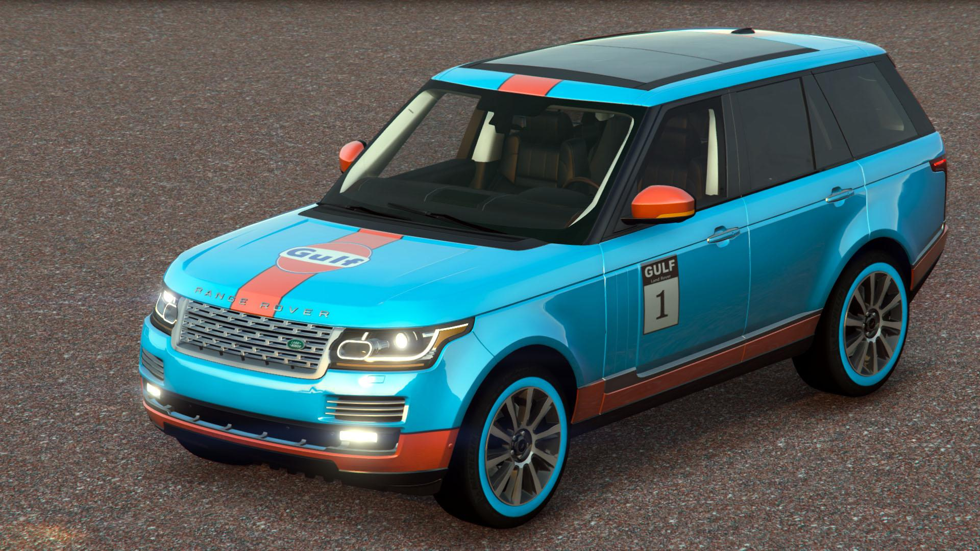 land rover range rover 2014 gulf livery gta5. Black Bedroom Furniture Sets. Home Design Ideas