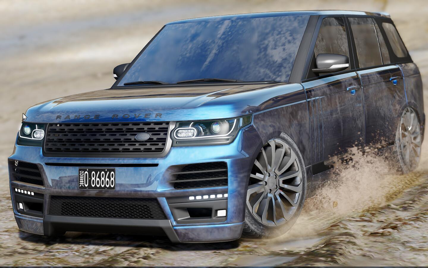 land rover range rover startech add on replace gta5. Black Bedroom Furniture Sets. Home Design Ideas