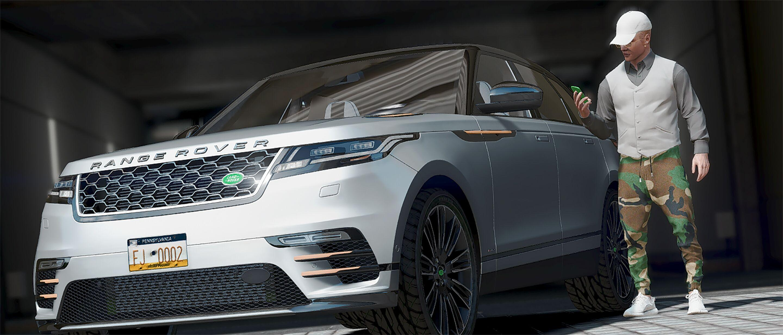 Land Rover Range Rover Velar 2018 Gta5 Mods Com