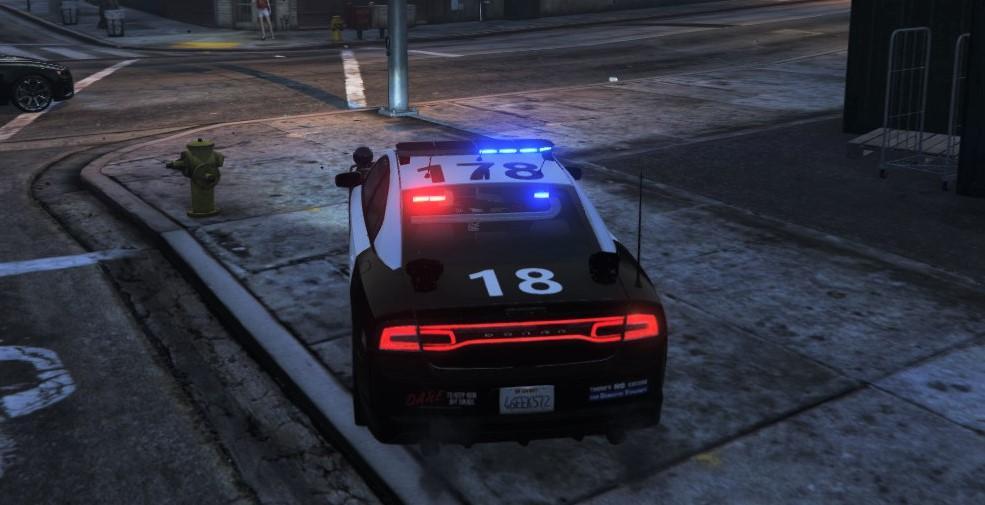 Lapd 2012 Dodge Charger Texture Gta5 Mods Com