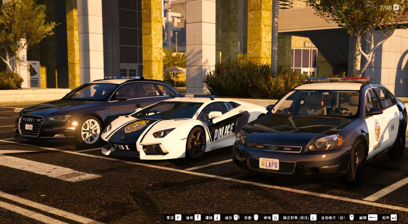Alfa Romeo Giulia >> LAPD Police Skins for Audi S4 & Chevrolet Impala [2K] - GTA5-Mods.com
