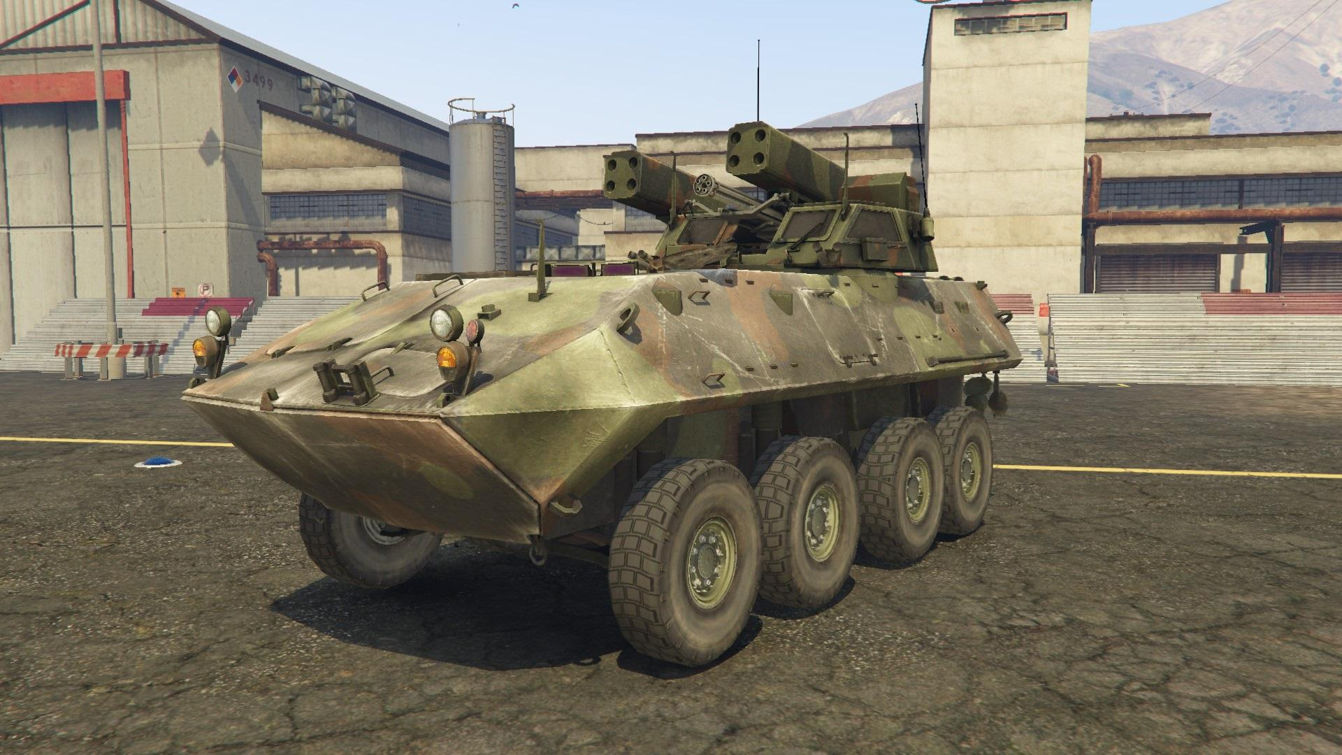 lav ad air defense vehicle gta5. Black Bedroom Furniture Sets. Home Design Ideas