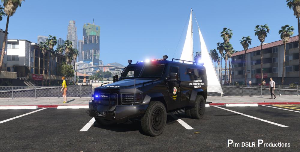 Lenco BearCat SWAT Code 3 Arch, Liberty (More lights) - GTA5-Mods com
