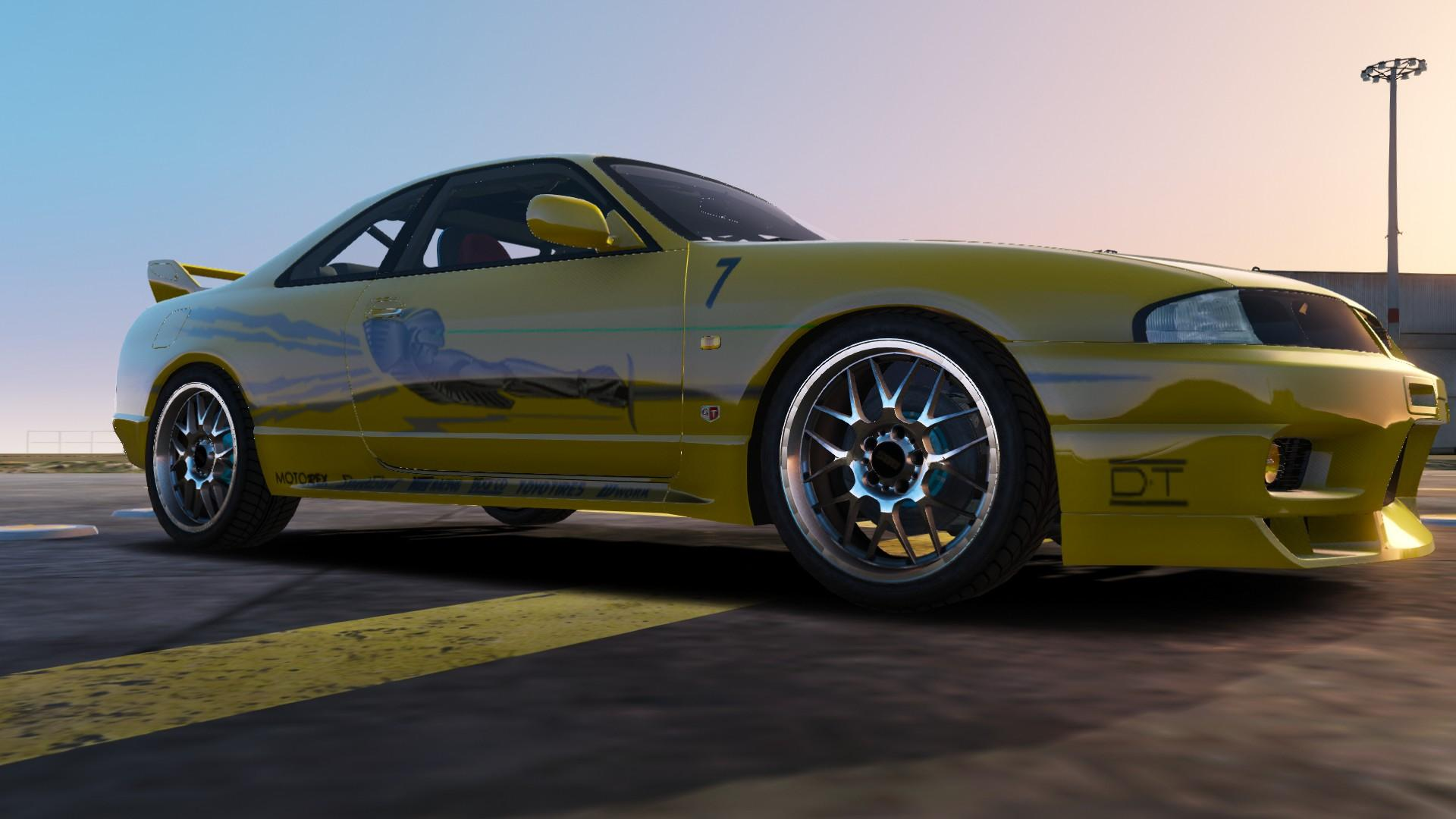 Leon's Nissan R33 - The Fast and the Furious - GTA5-Mods.com