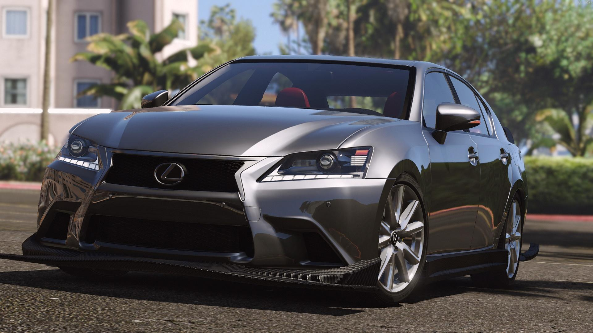 lexus gs 350 add on replace tuning template gta5. Black Bedroom Furniture Sets. Home Design Ideas