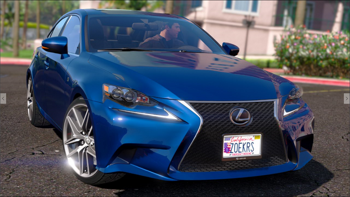 lexus is350 f sport 2014 gta5. Black Bedroom Furniture Sets. Home Design Ideas