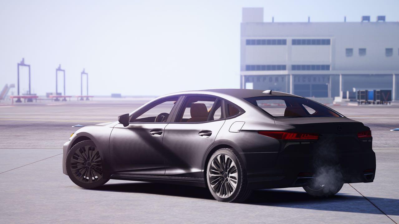 Lexus Ls500 2018 Replace Gta5 Mods Com