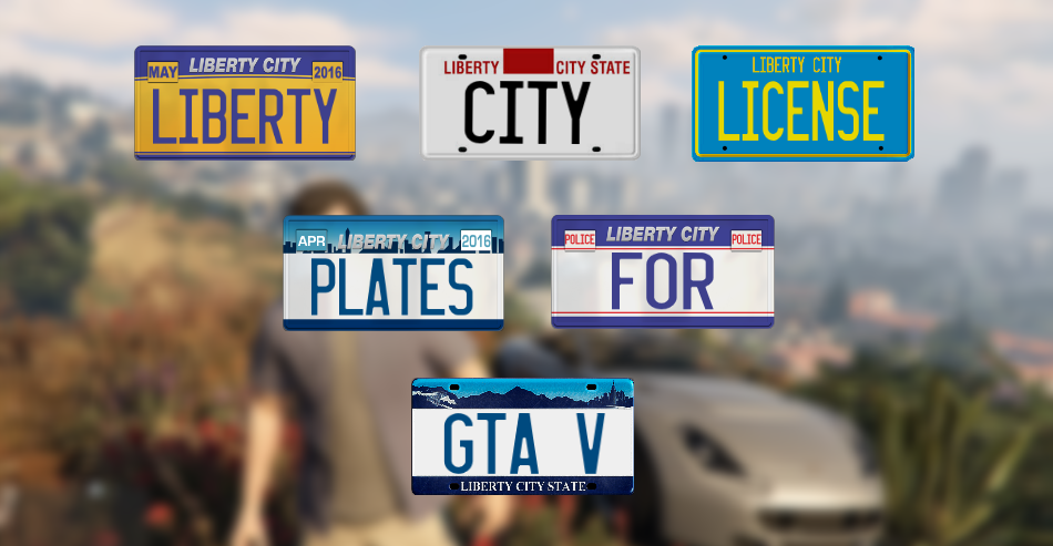 Liberty City Gta Iv License Plates Hd Gta5 Mods Com