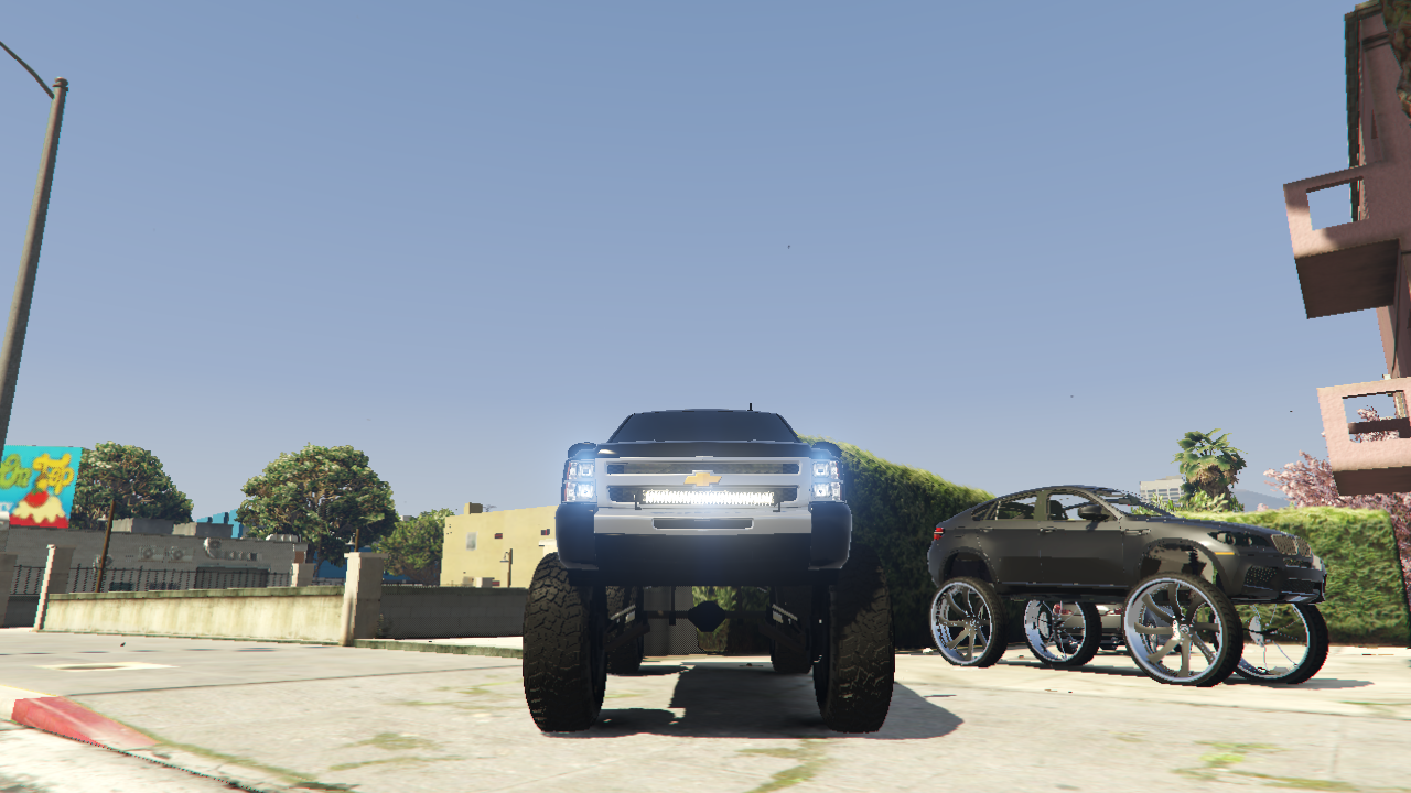 lifted chevy truck gta5. Black Bedroom Furniture Sets. Home Design Ideas