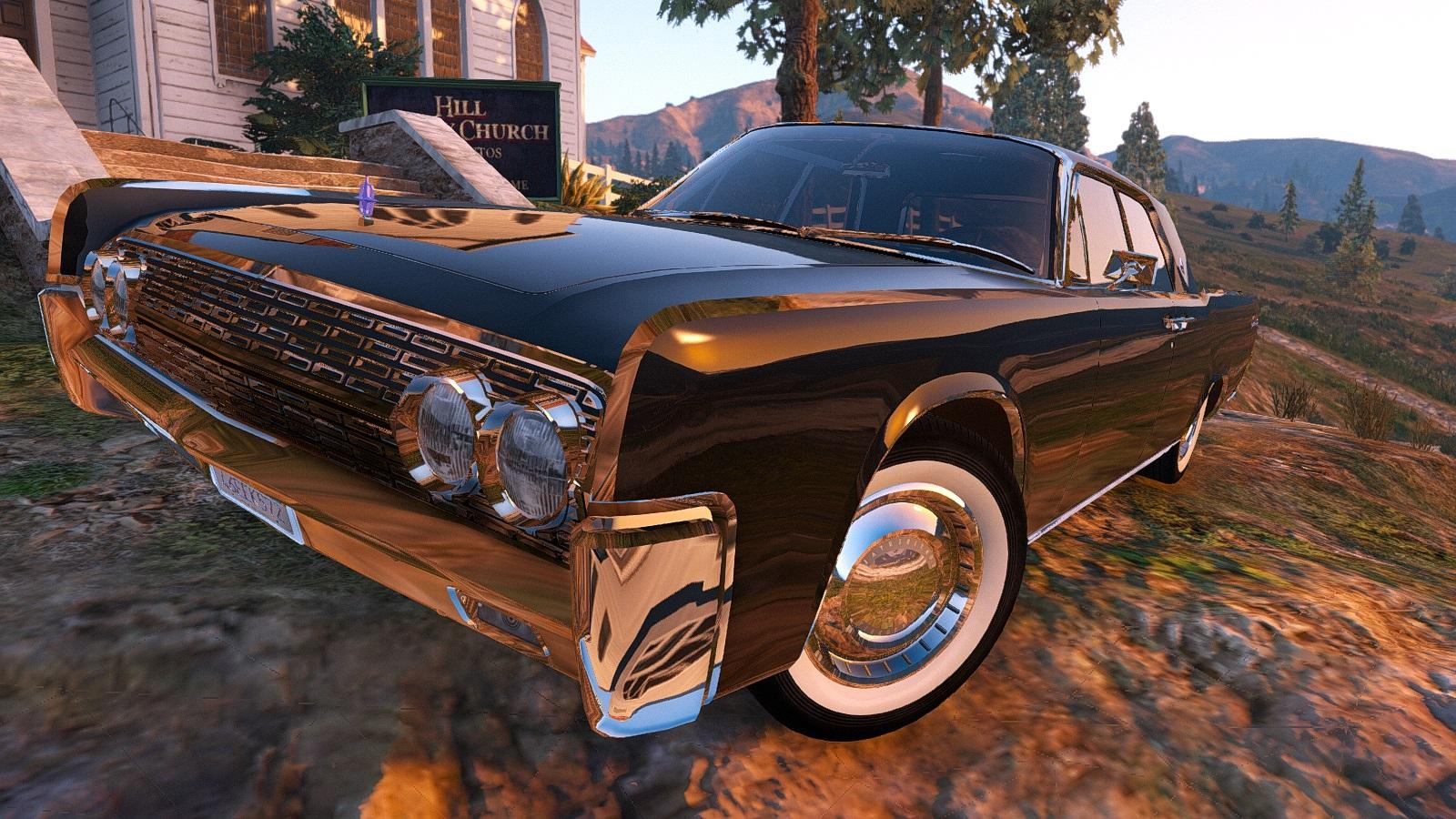 lincoln continental sedan 1962 replace addon gta5. Black Bedroom Furniture Sets. Home Design Ideas