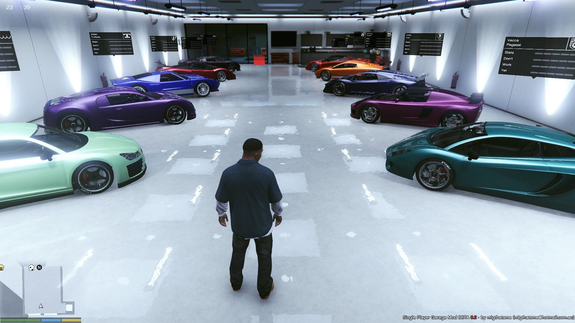 2 loaded single player garages spg gta5 for Garage auto sarcelles