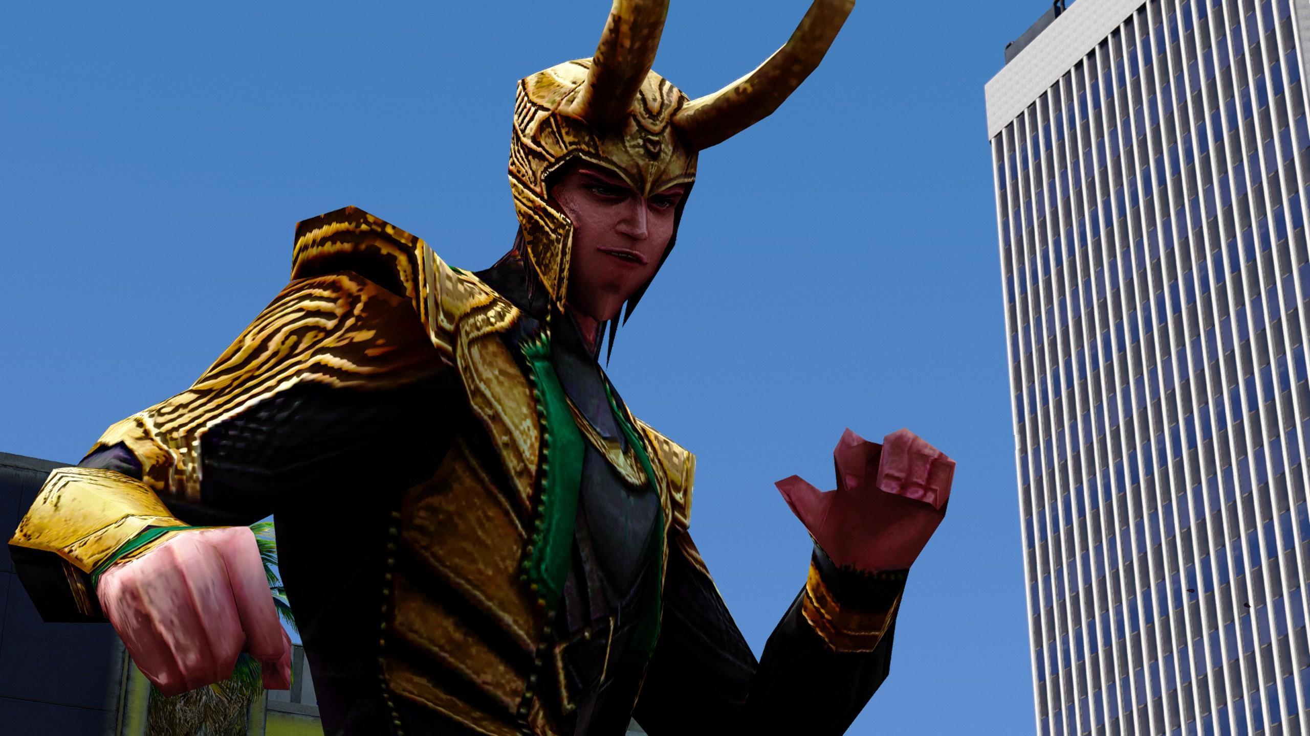 The Avengers: Loki (Avengers) [Add-On Ped]