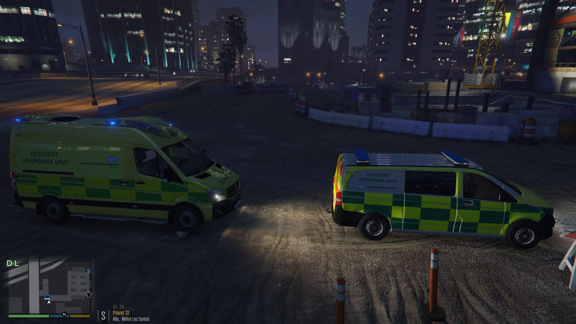 London Ambulance Service Mercedes-Benz Sprinter Incident Response Unit - GTA5-Mods.com