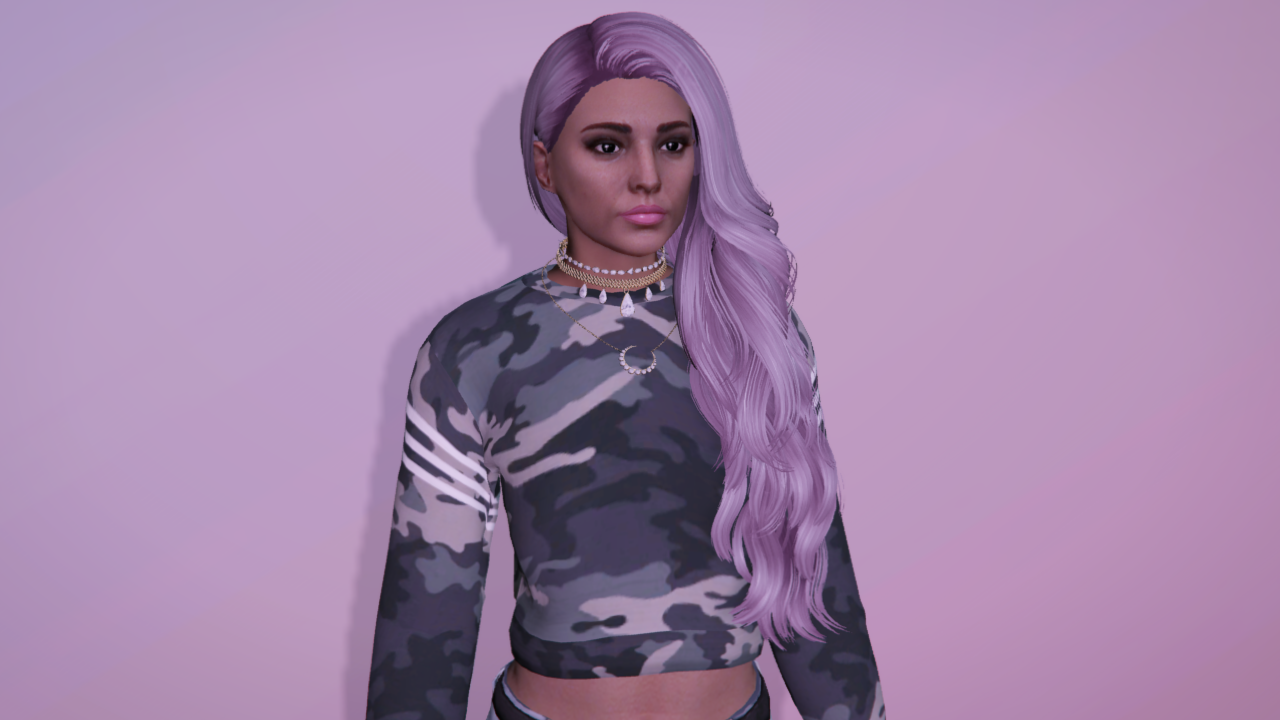 Long curly hairstyle for MP Female - GTA5-Mods.com