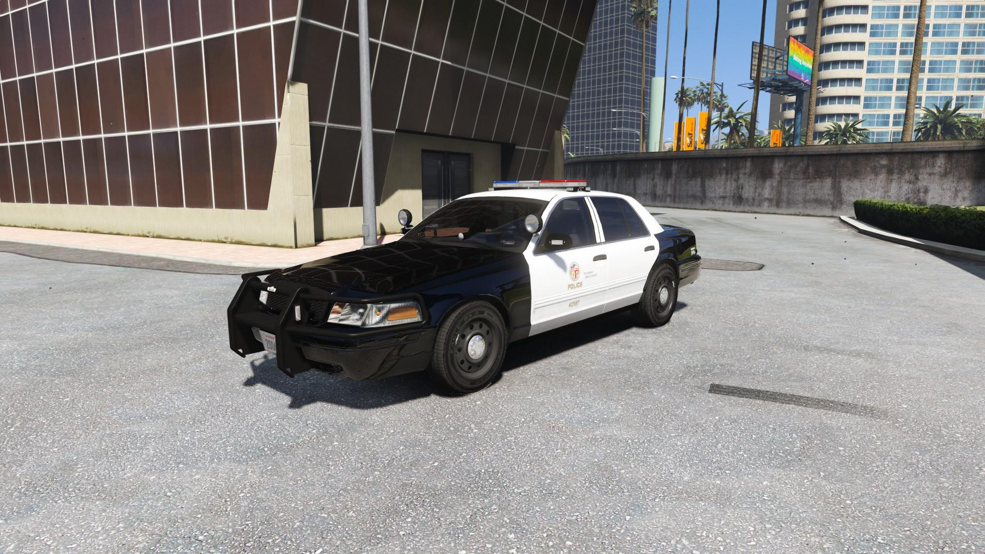 Los Angeles Police Department Lapd Texture Pack 4k