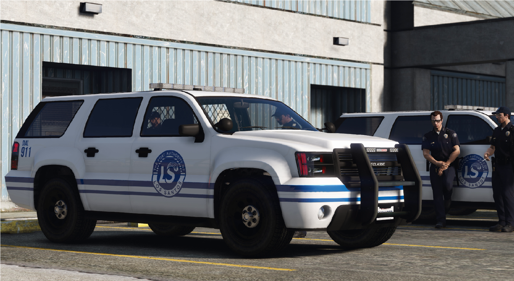 Los Santos Port Authority Alamo for IlayArye's Alamo emergency pack
