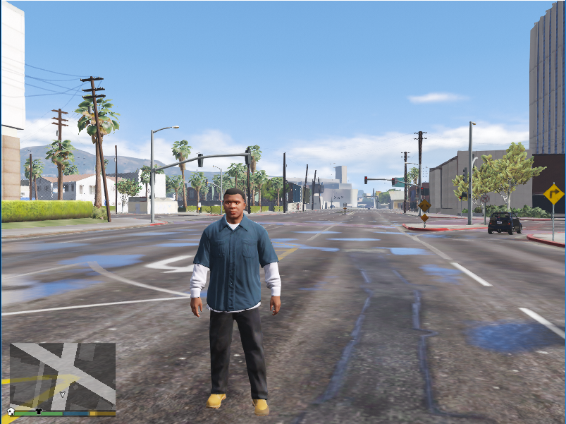 Grand Theft Auto: Low Intel(R)HD Graphics Edition - GTA5