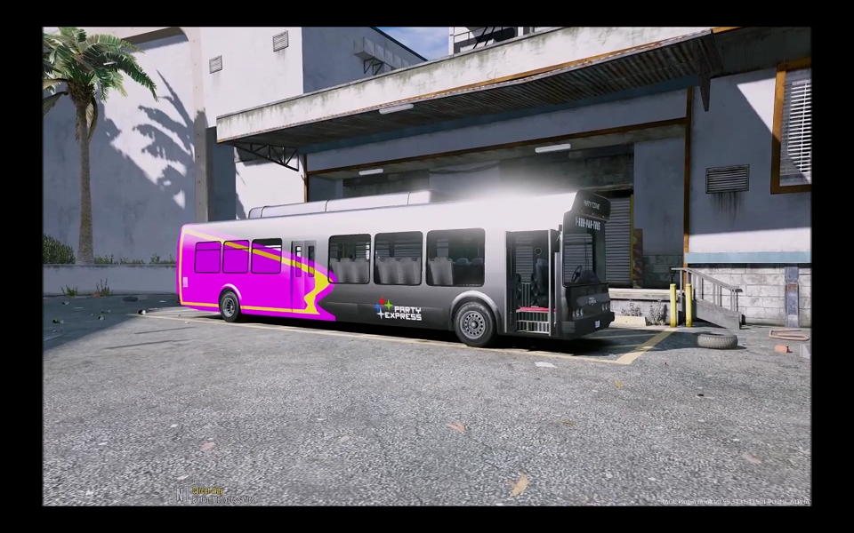 Lst Party Bus Template Unlocked Gta5 Mods