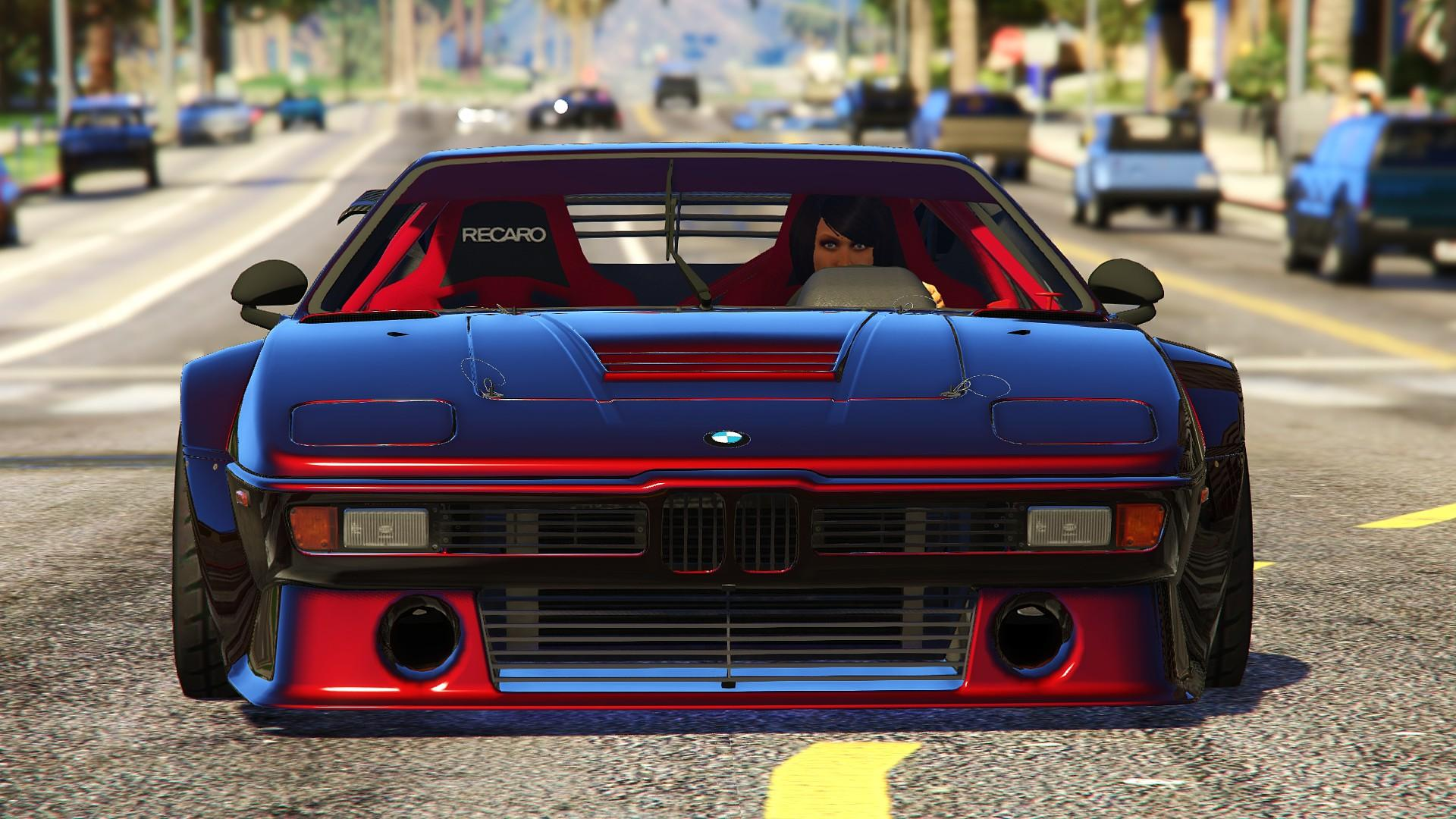 bmw m1 procar e26 1981 add on gta5. Black Bedroom Furniture Sets. Home Design Ideas