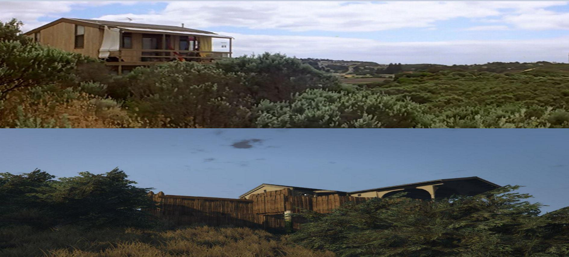 Mad max max 39 s beach house gta5 for Housse storio max 5