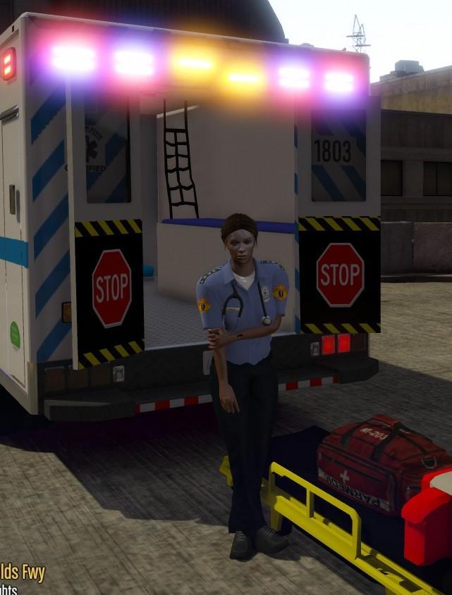EMS EMT Paramedic Ped Models M&F & Retexture [Fivem ...