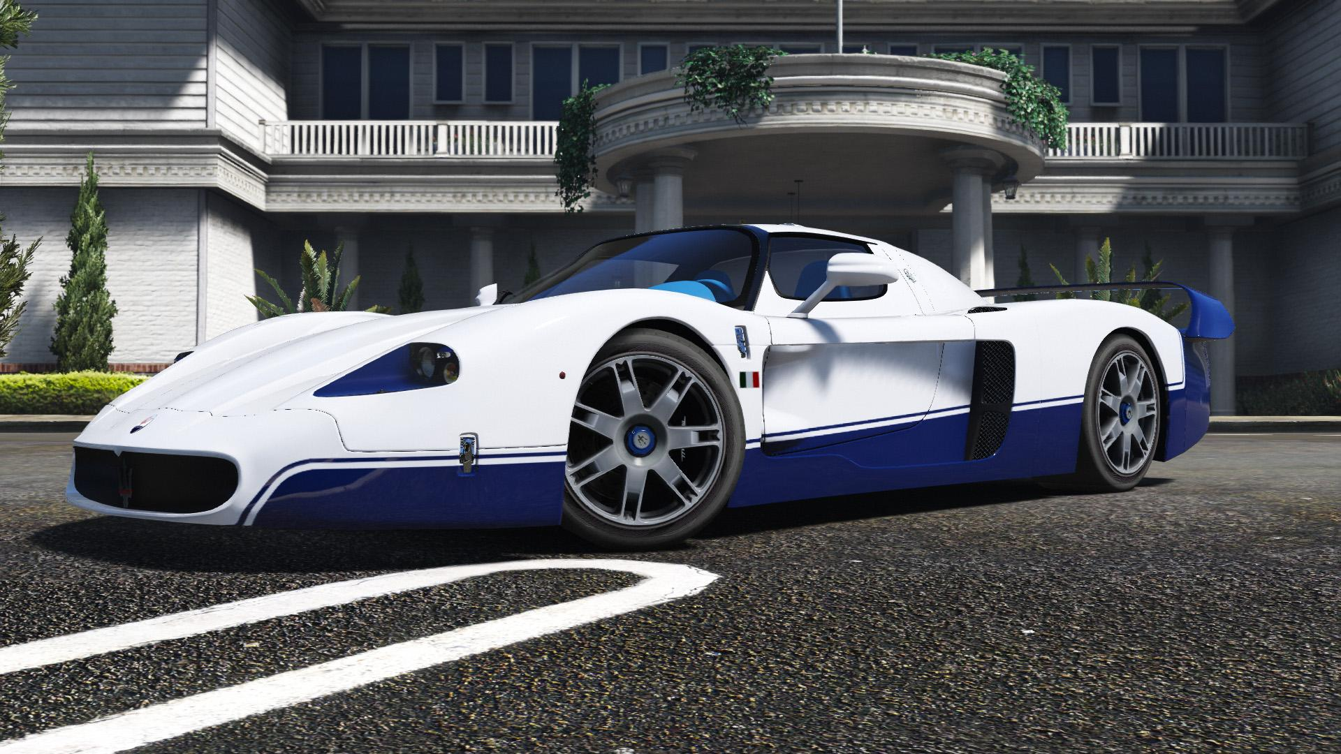 maserati mc12 add on tuning template gta5. Black Bedroom Furniture Sets. Home Design Ideas