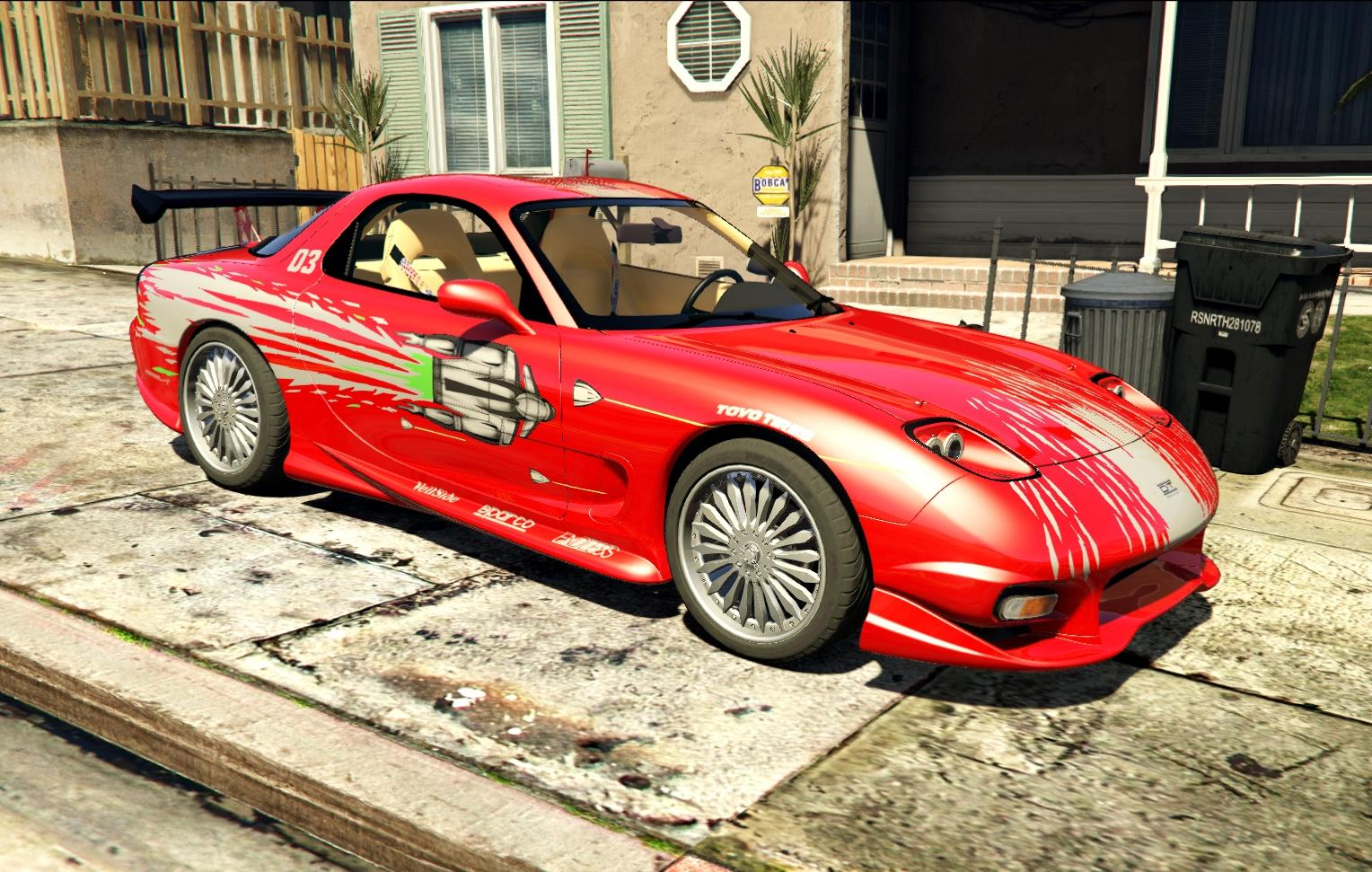 """Mazda RX-7 """"Fast and Furious"""" [Add-On  Dials] - GTA5-Mods.com"""