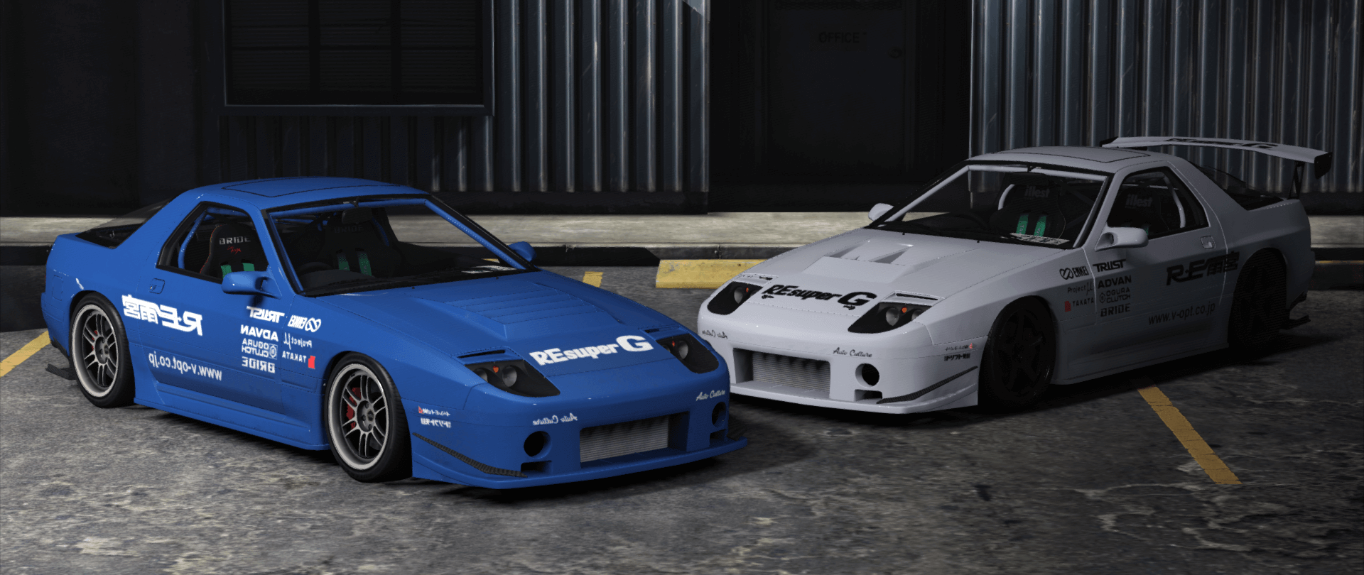 mazda rx 7 fc3s add on tuning template gta5. Black Bedroom Furniture Sets. Home Design Ideas