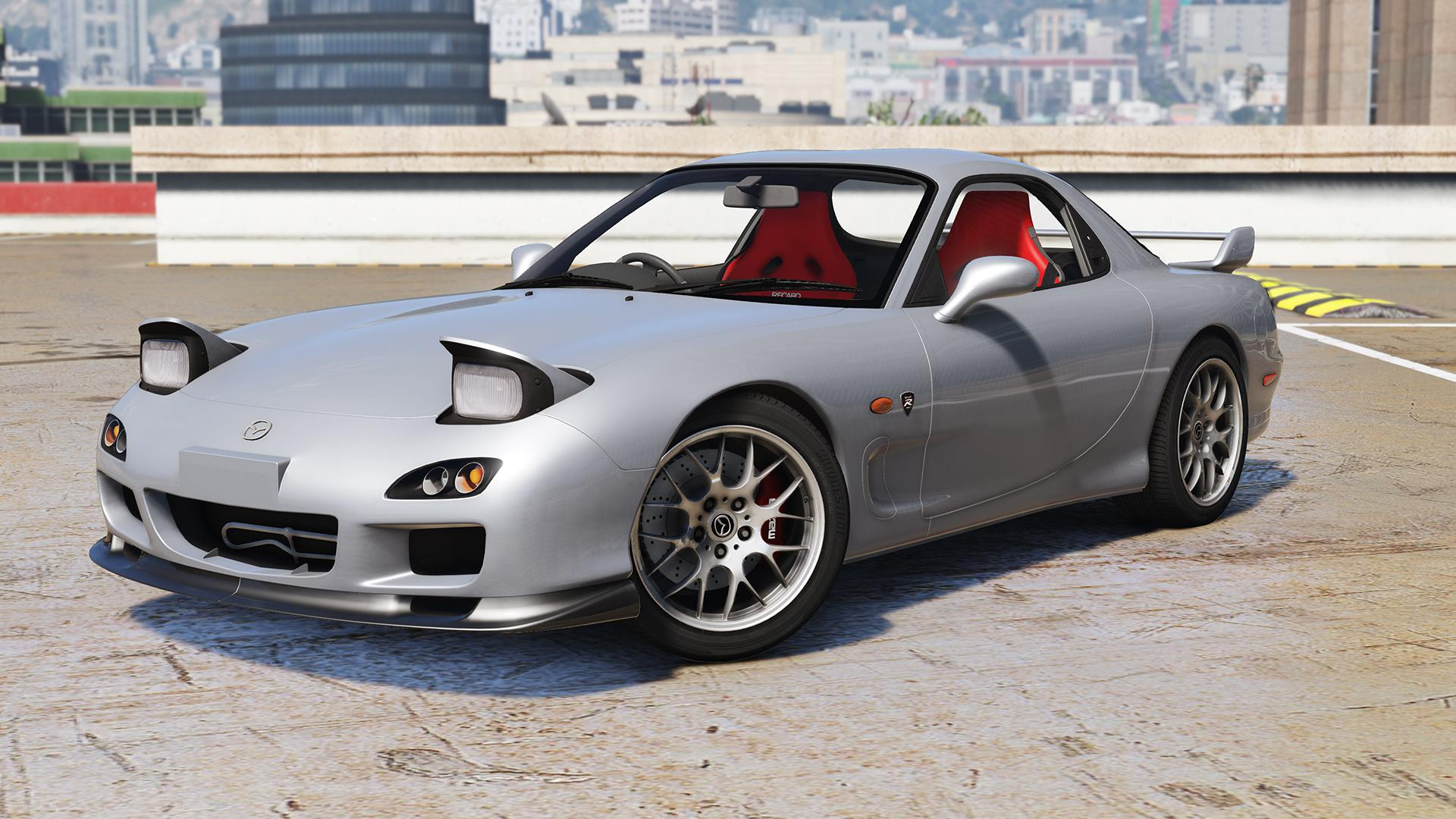 mazda rx 7 spirit r type a add on gta5. Black Bedroom Furniture Sets. Home Design Ideas