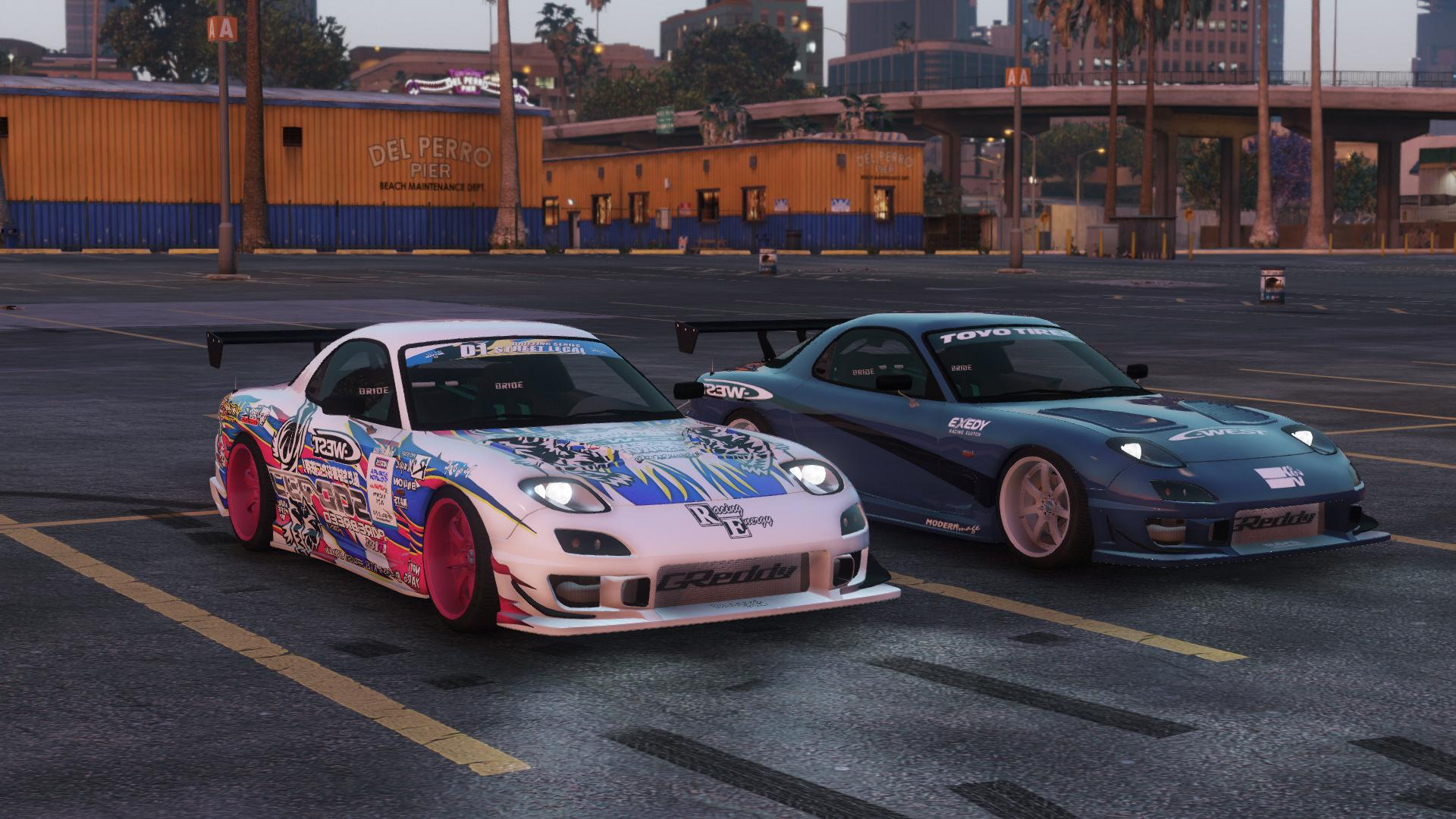 2016 Mazda Rx7 >> Mazda Rx7 C West Add On Replace Livery Template