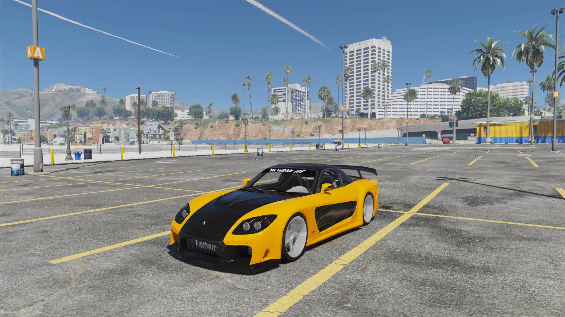 Mazda Rx7 Veilside Fortune Add On Replace Livery Gta5 Mods Com