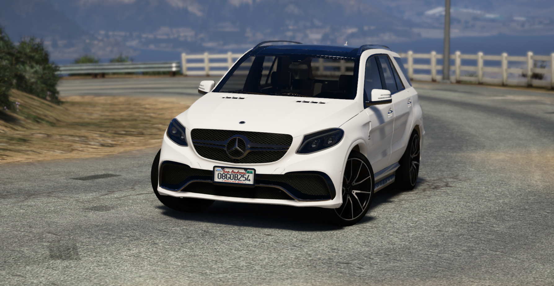 mercedes amg gle 63 s 4matic restyling add on replace gta5. Black Bedroom Furniture Sets. Home Design Ideas