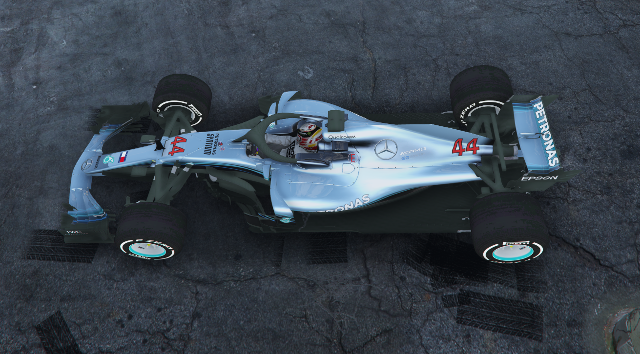 Mercedes AMG Petronas EQ Power W09 2018 - GTA5-Mods com