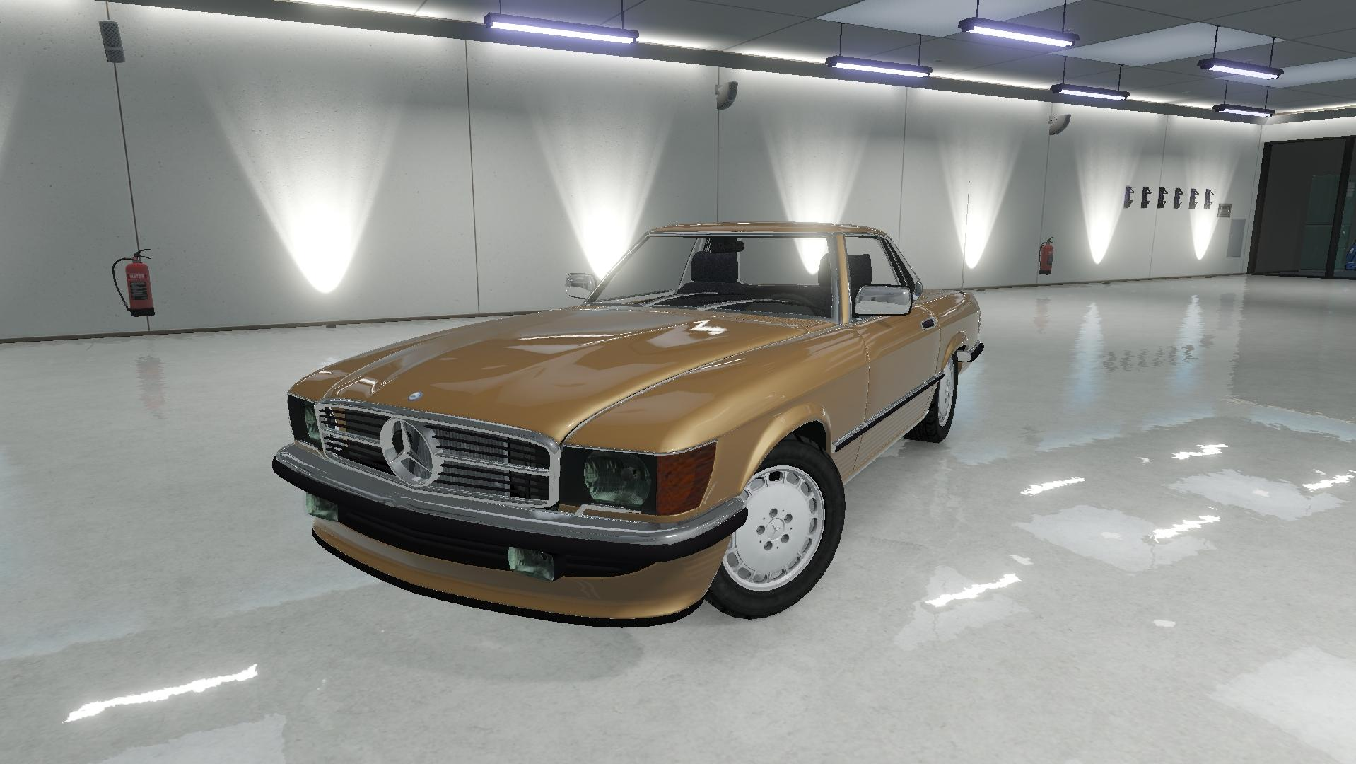 Mercedes benz 350 sl roadster gta5 for Mercedes benz sl roadster