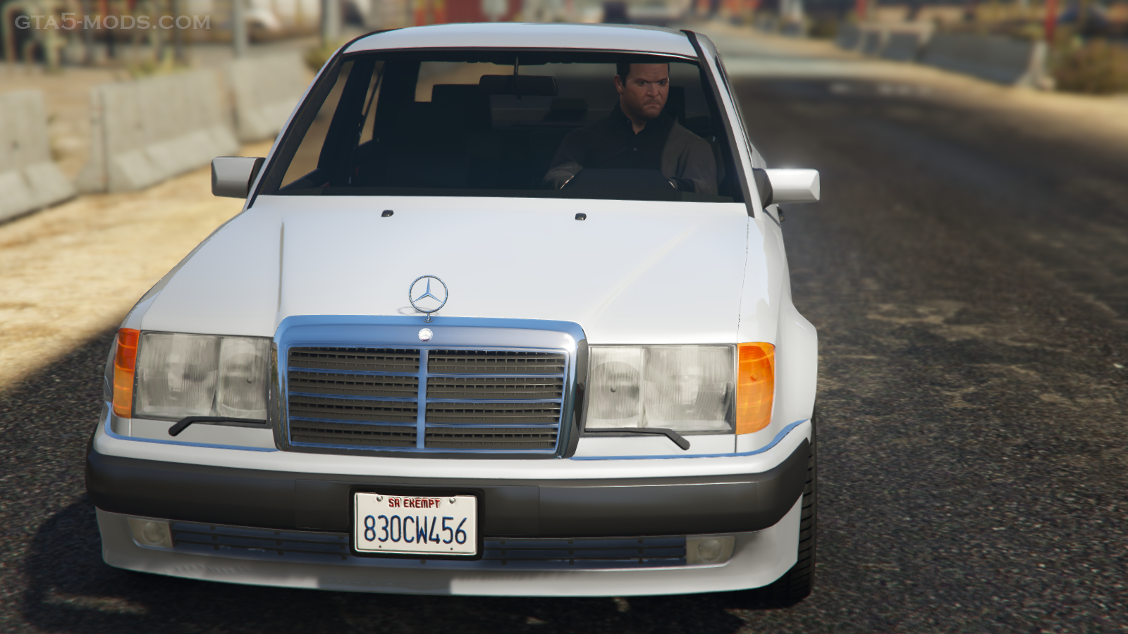 Mercedes benz 500e w124 add on replace gta5 for Mercedes benz add