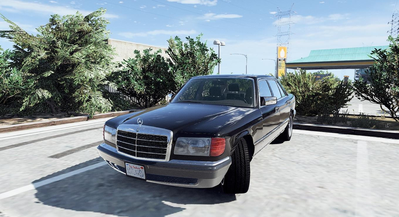 1990 mercedes benz 560sel w126 add on replace for Mercedes benz add