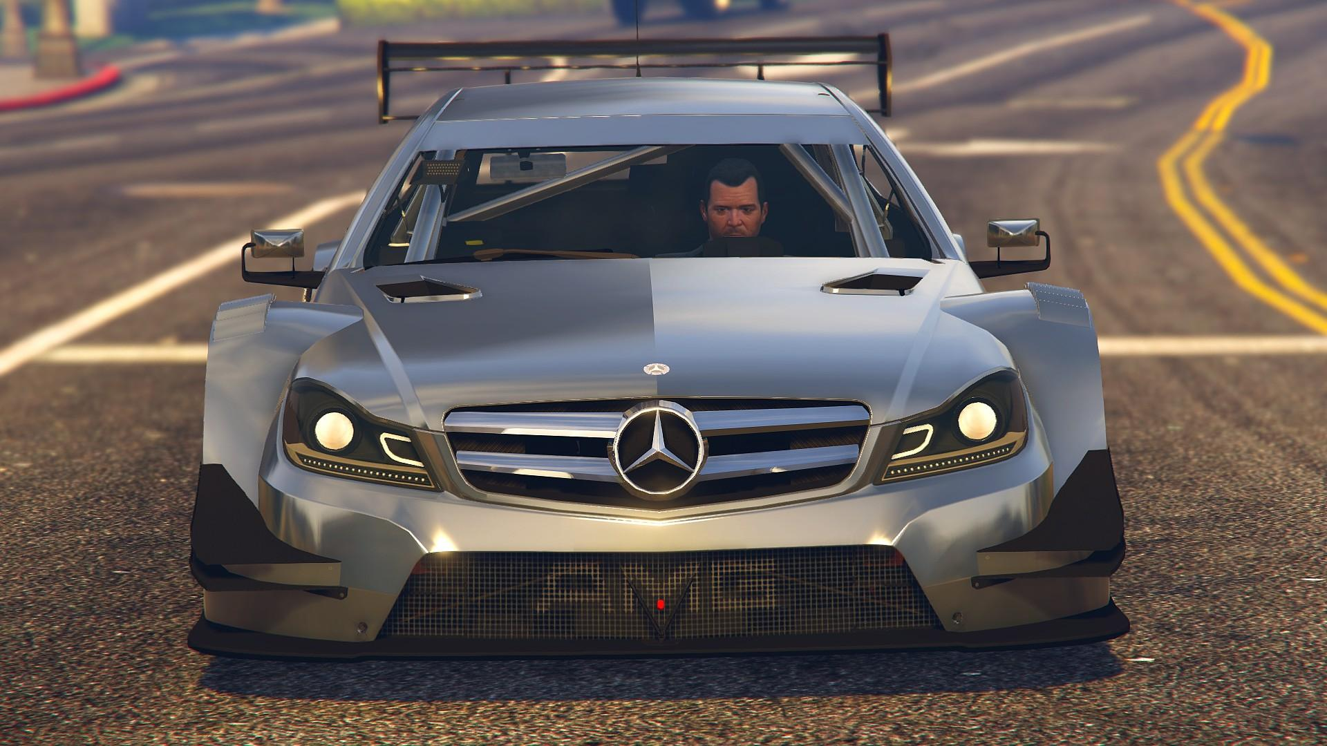 2013 mercedes benz amg dtm c204 gta5