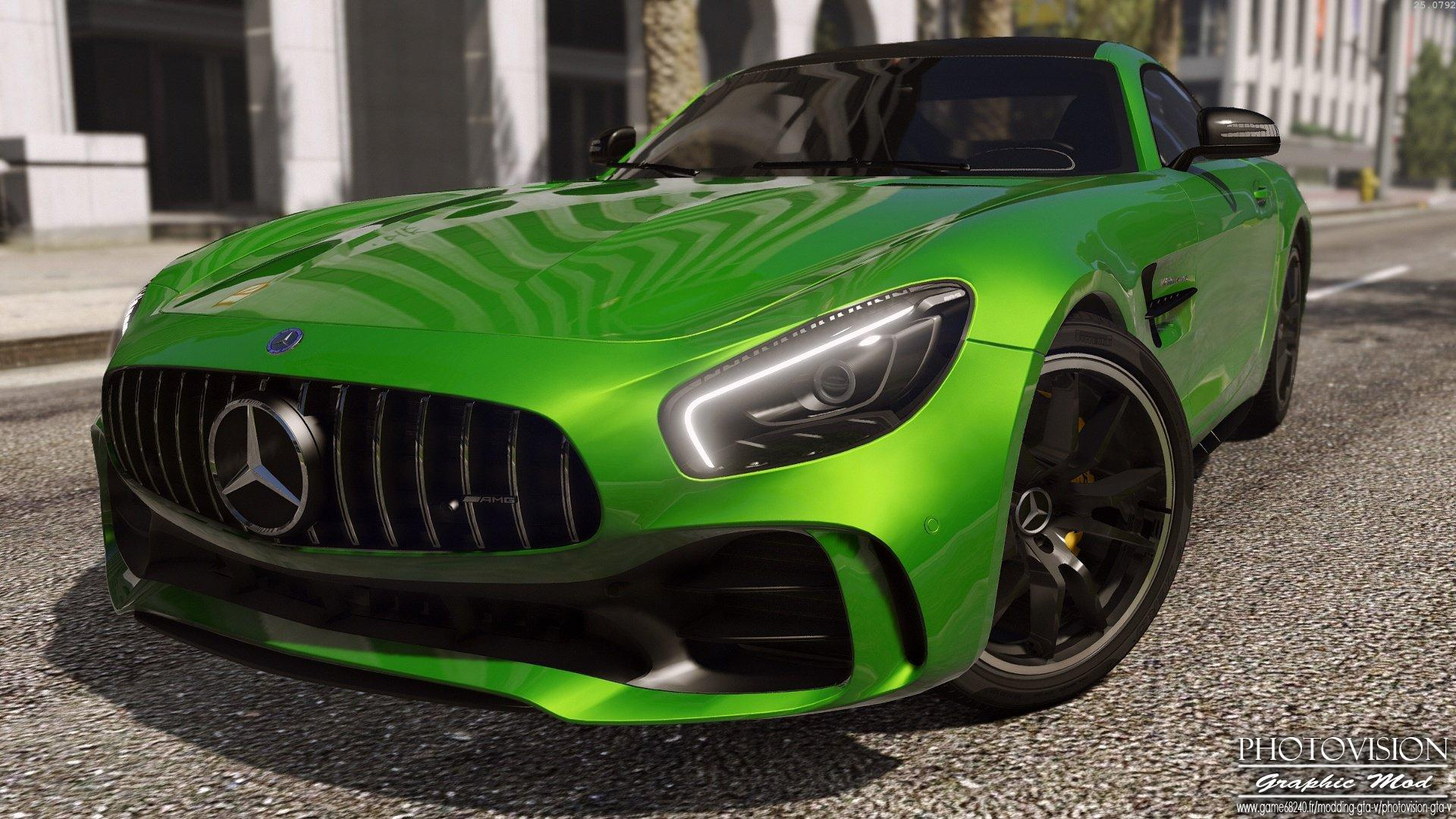 Mercedes Benz Amg Gt R 2017 Add On Replace Gta5