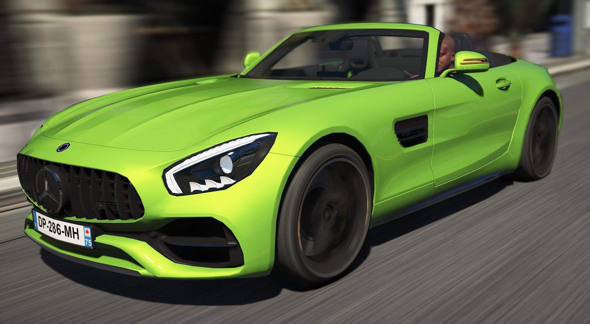 mercedes benz amg gtc add on replace gta5. Black Bedroom Furniture Sets. Home Design Ideas