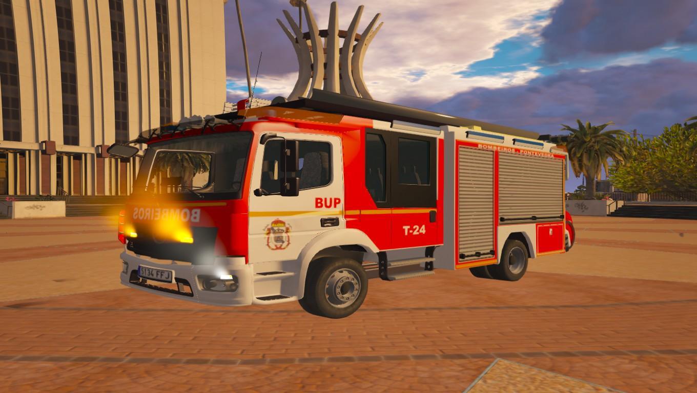mercedes benz atego bombeiros pontevedra galicia gta5. Black Bedroom Furniture Sets. Home Design Ideas