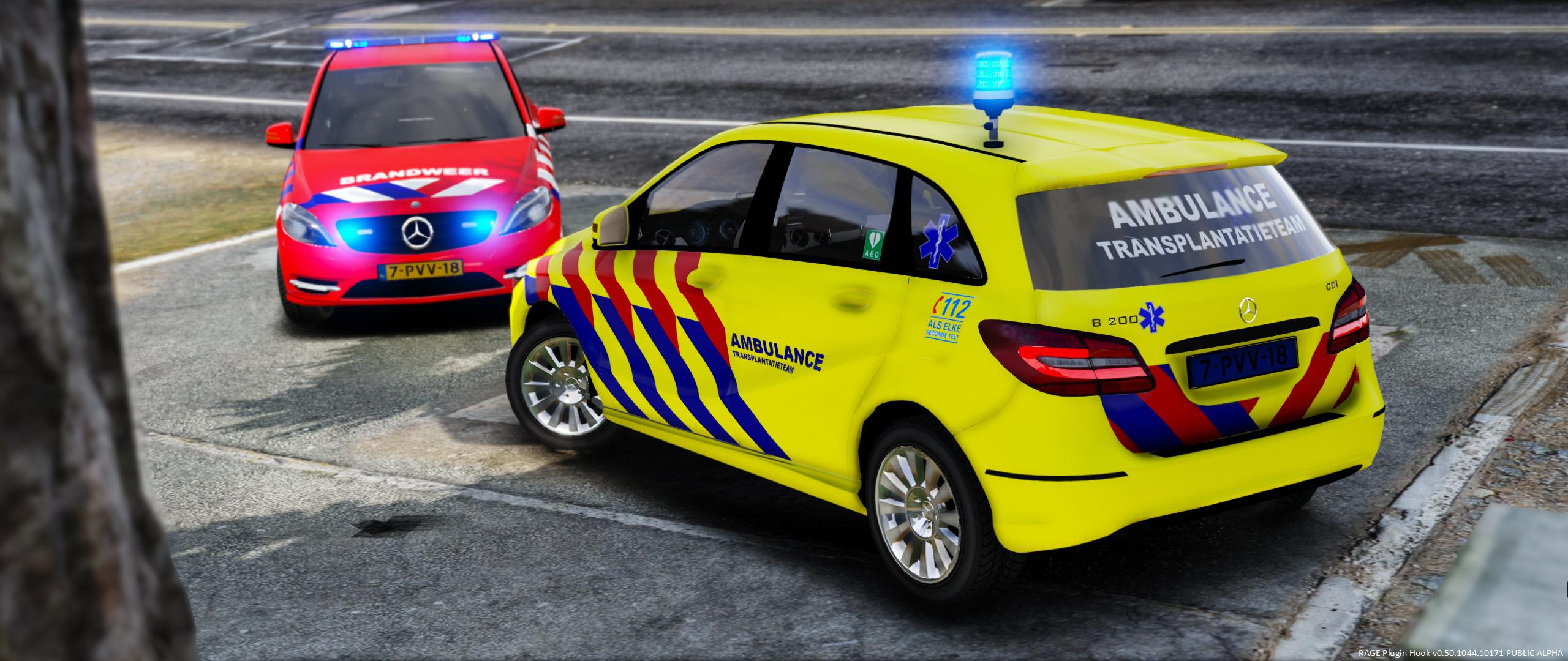 Mercedes benz b klasse dutch fire ems service gta5 for What is the b service for mercedes benz